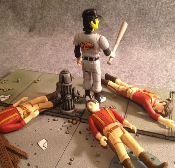 Baseball Furies Leader Warriors Custom Action Figure Sci Fi Toys Figures