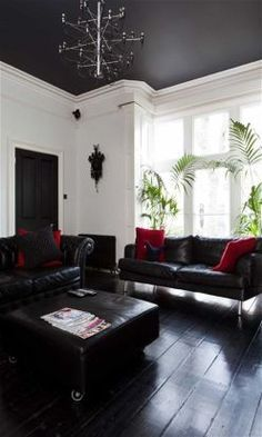 dark gray ceilings with white walls - Yahoo Image Search Results