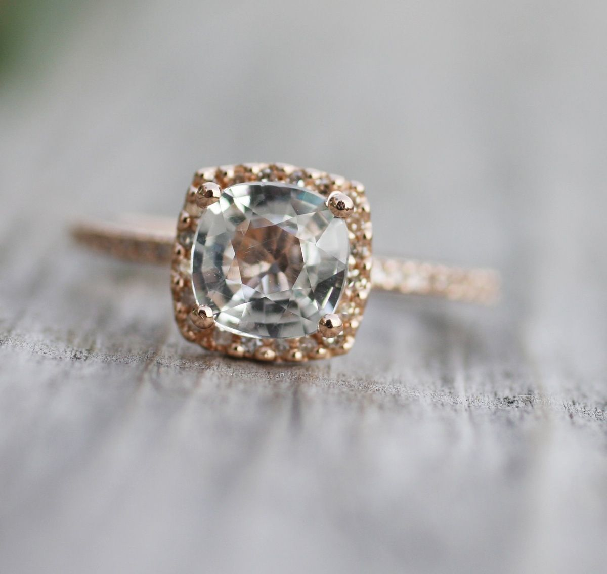 Rose gold engagement ring kind of a vintage look wedding ideas