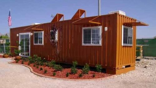 Shipping Container Home 8 X 40 Deposit To Start Project Building A Container Home Container House Plans Container House