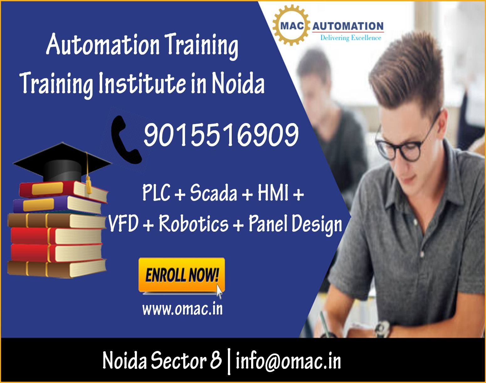 Join Omac Automation Training institute in noida. Free