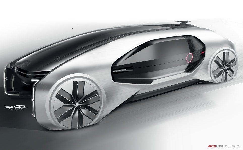 Renault Ez Go Concept Car Envisions What A Future Taxi