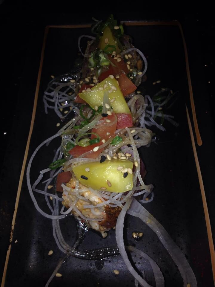 Pineapple ahi from moku   Japanese restaurant  My next project