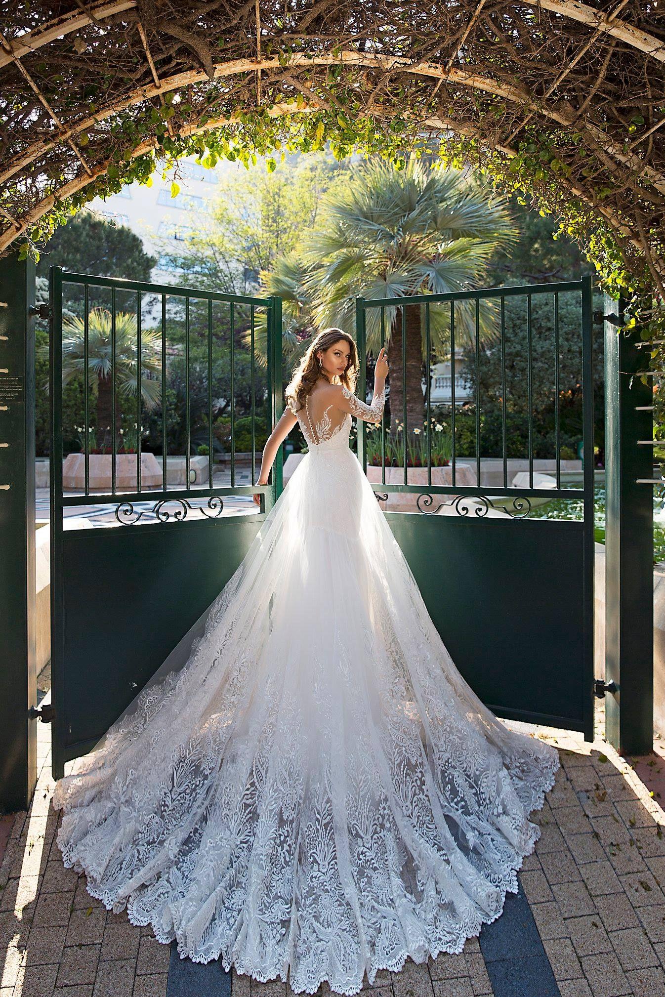 Wedding dresses by TINA VALERDI BARCELONA ONLY at Charmé Gaby ...