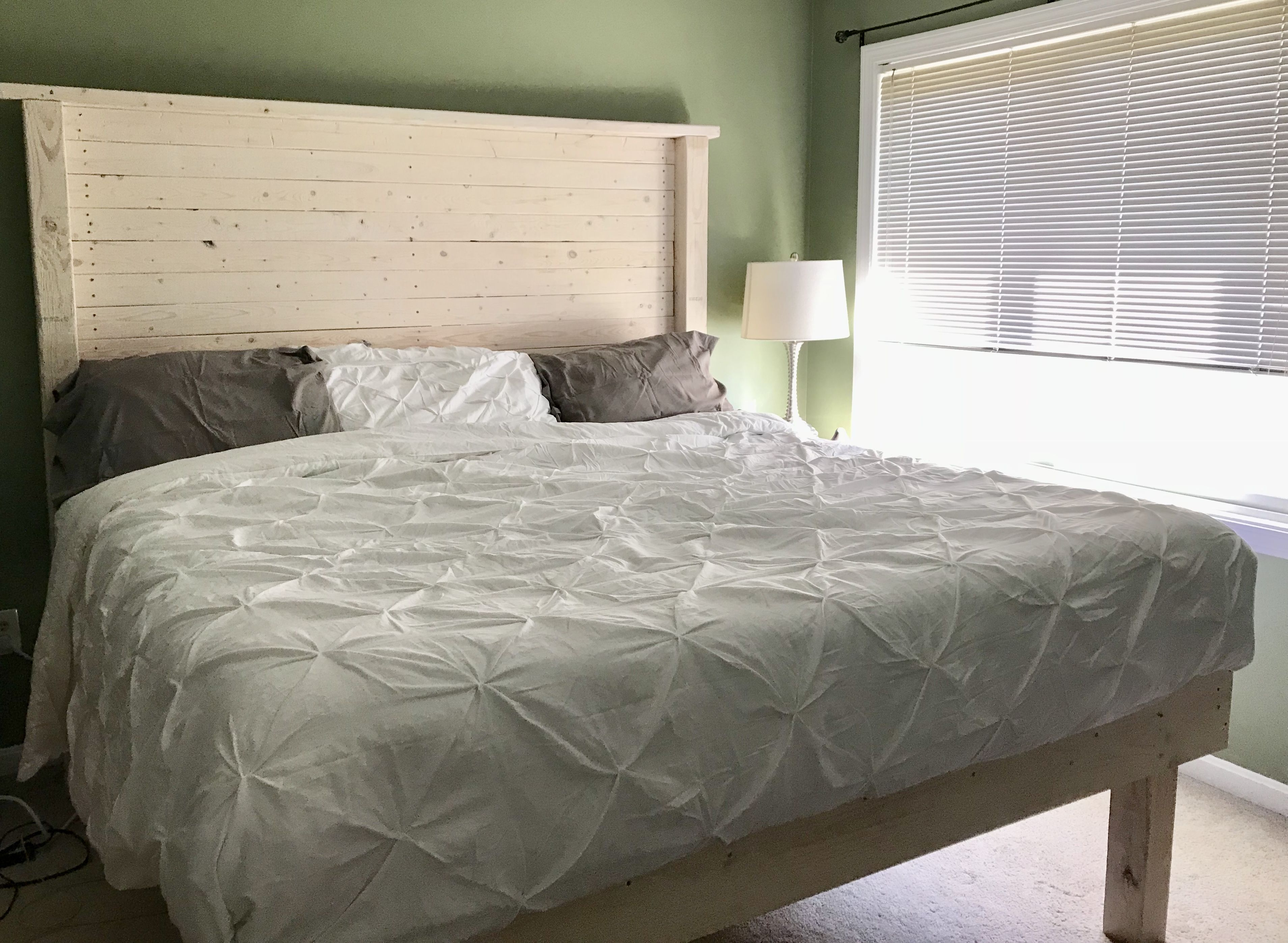 White wash headboard my home pinterest apartment ideas and