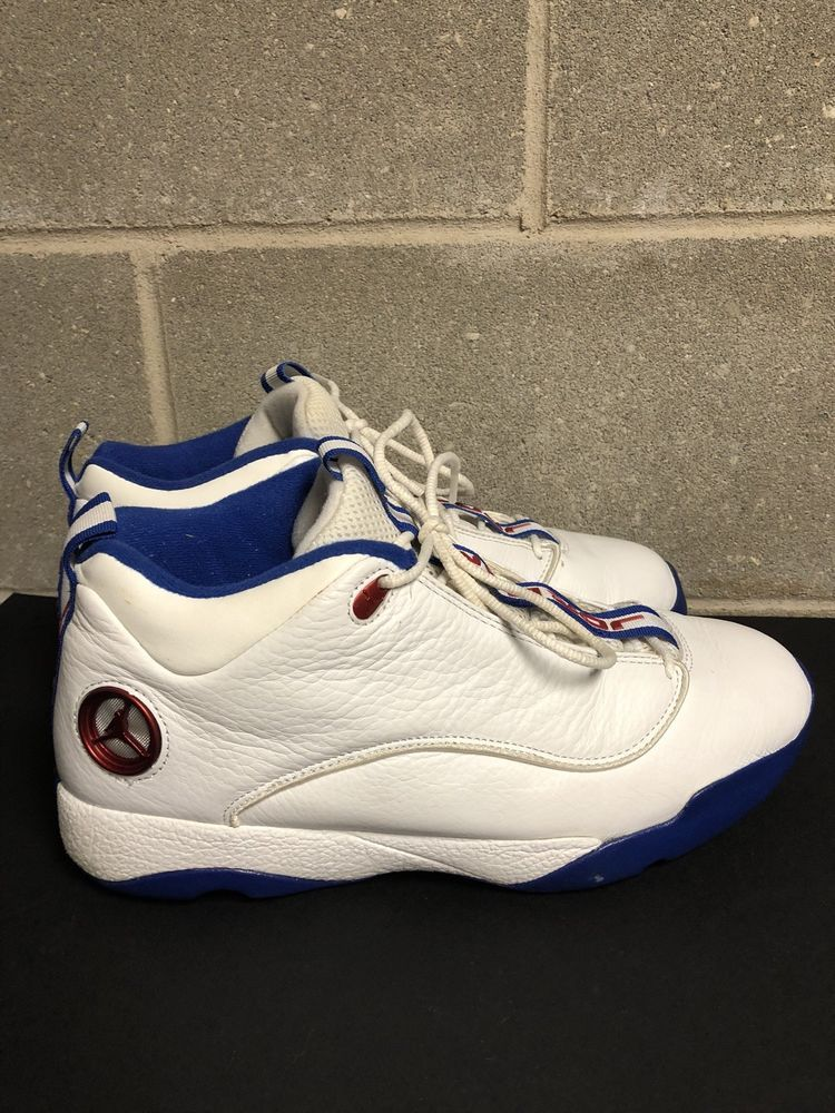 Air Jordan Jumpman Pro Quick White  Blue  Red 10 10 03 Size 10.5 Rare   fashion  clothing  shoes  accessories  mensshoes  athleticshoes (ebay link) 65b3bde06
