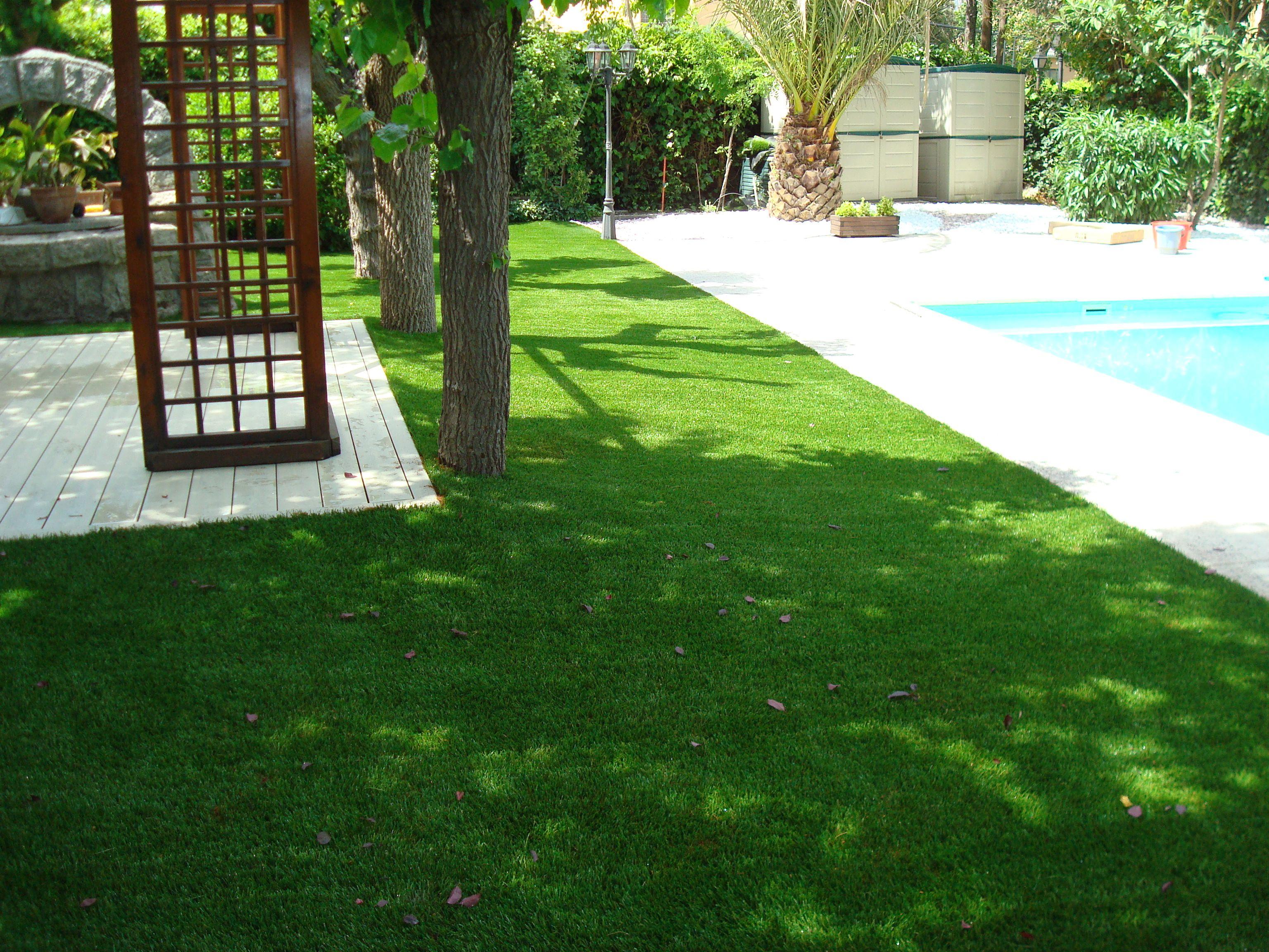 Cesped artificial para jardines #cesped_artificial | césped ...