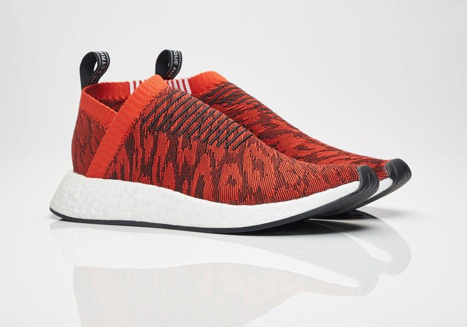 adidas NMD CS2 Primeknit Red Glitch