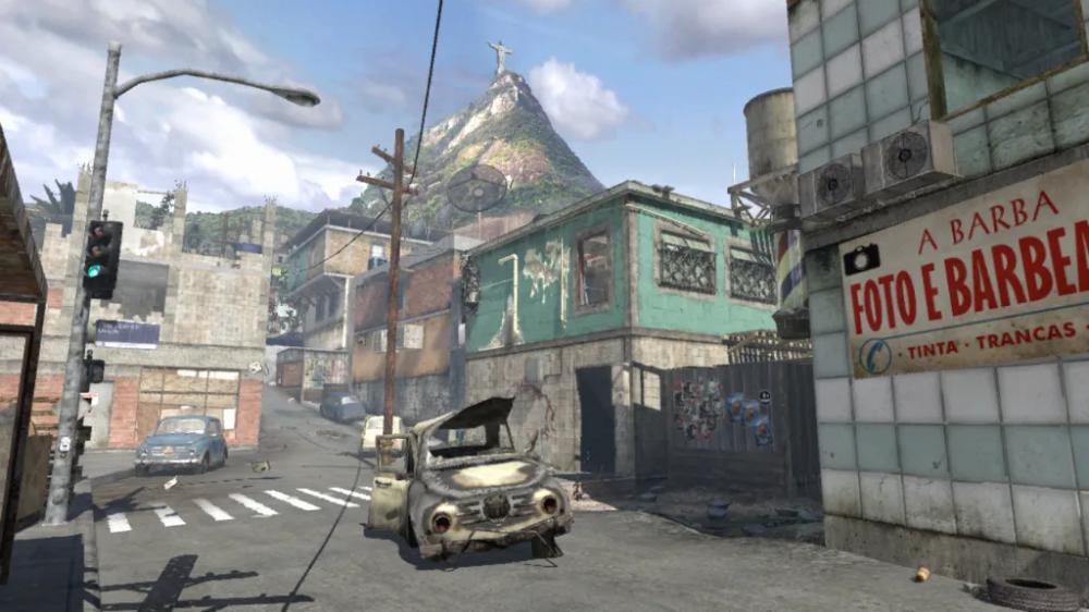 Favela Modern Warfare 2 Call Of Duty Maps Mw2 Modernwarfare2 Cod Callofduty In 2020 Modern Warfare Warfare Christ The Redeemer Statue