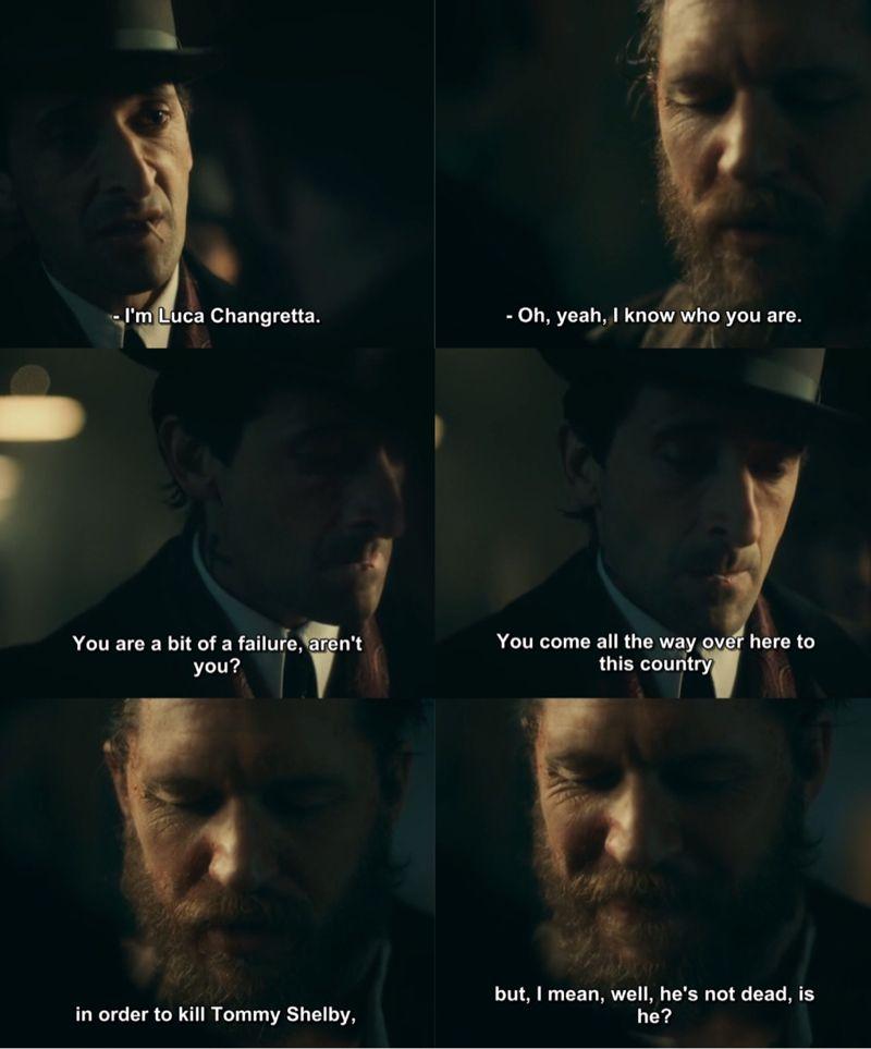 Alfie is the best 😂👊 | Peaky blinders quotes, Peaky ...