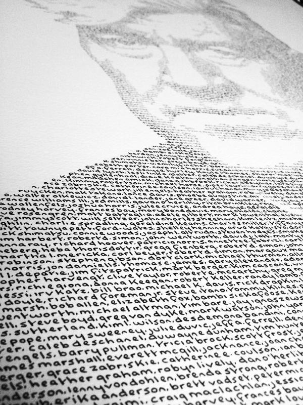 handwriting portrait - Google Search