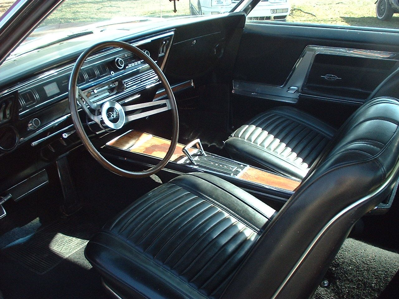 1971 Buick Riviera Interior Data Set