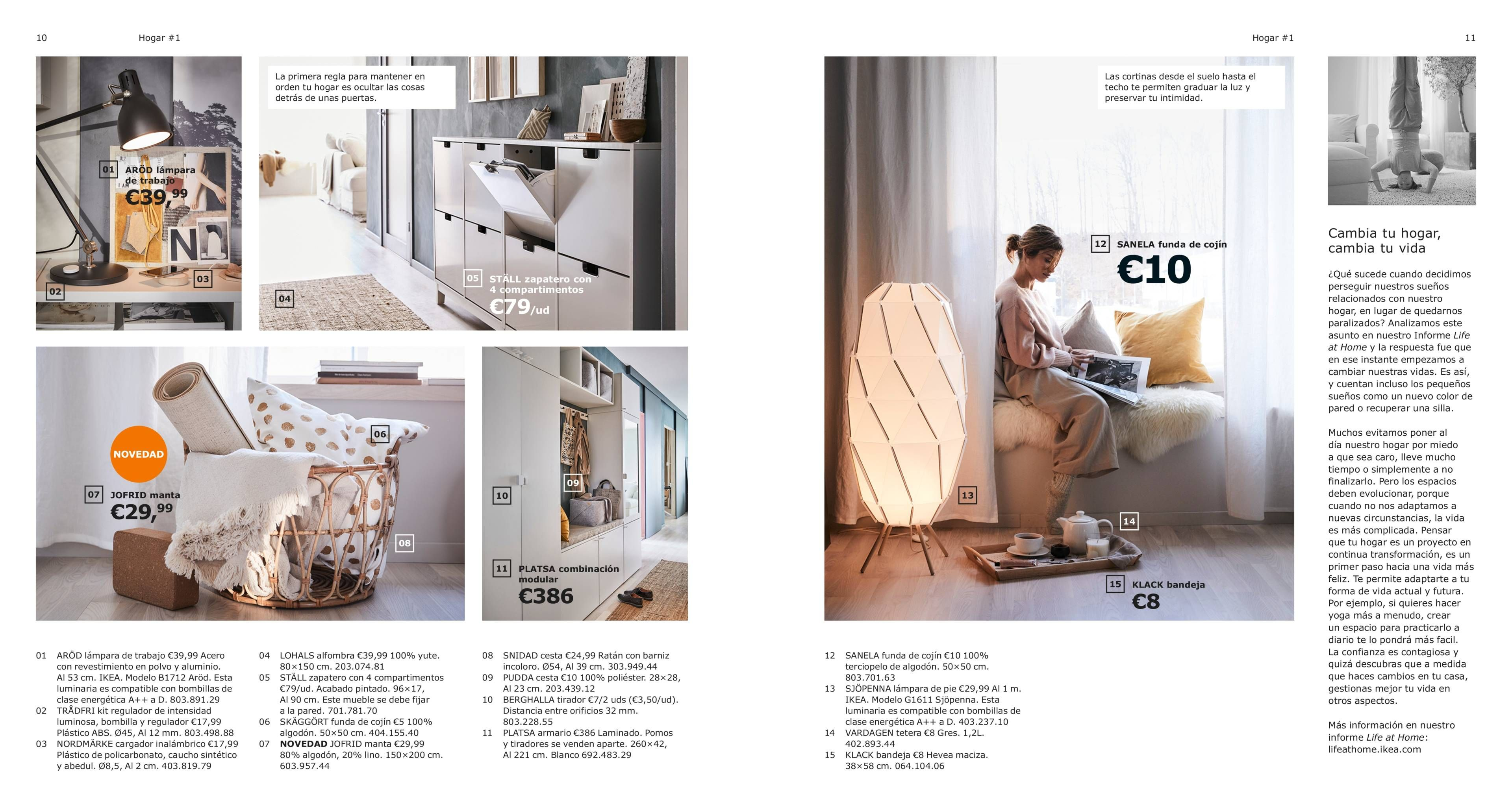 Home 3 The Home Of Treasures Catalogo 2019 Interiores Ikea