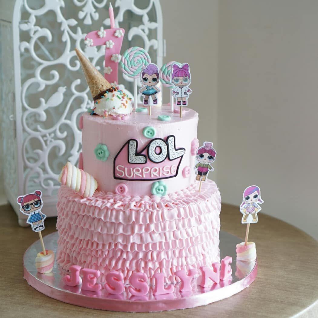 LOL Surprise Birthday Cake Wa 08161966824