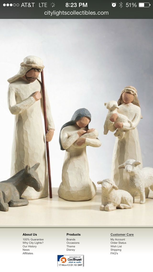 FREE SHIPPING Willow Tree Nativity/_Shepherd and Stable Animals