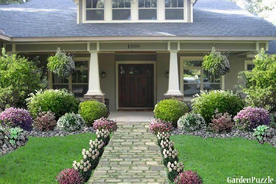 Craftsman House Garden