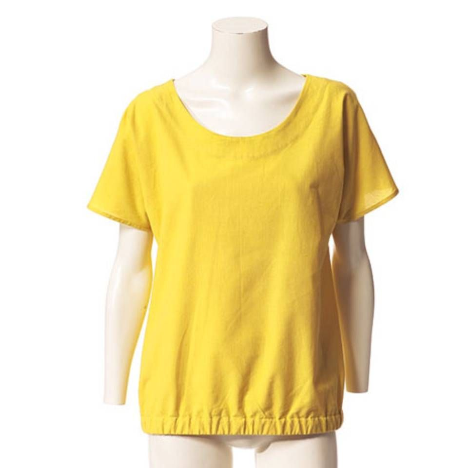 Schnittmuster: Bluse mit Gummizug nähen - eine Anleitung | Pinterest ...