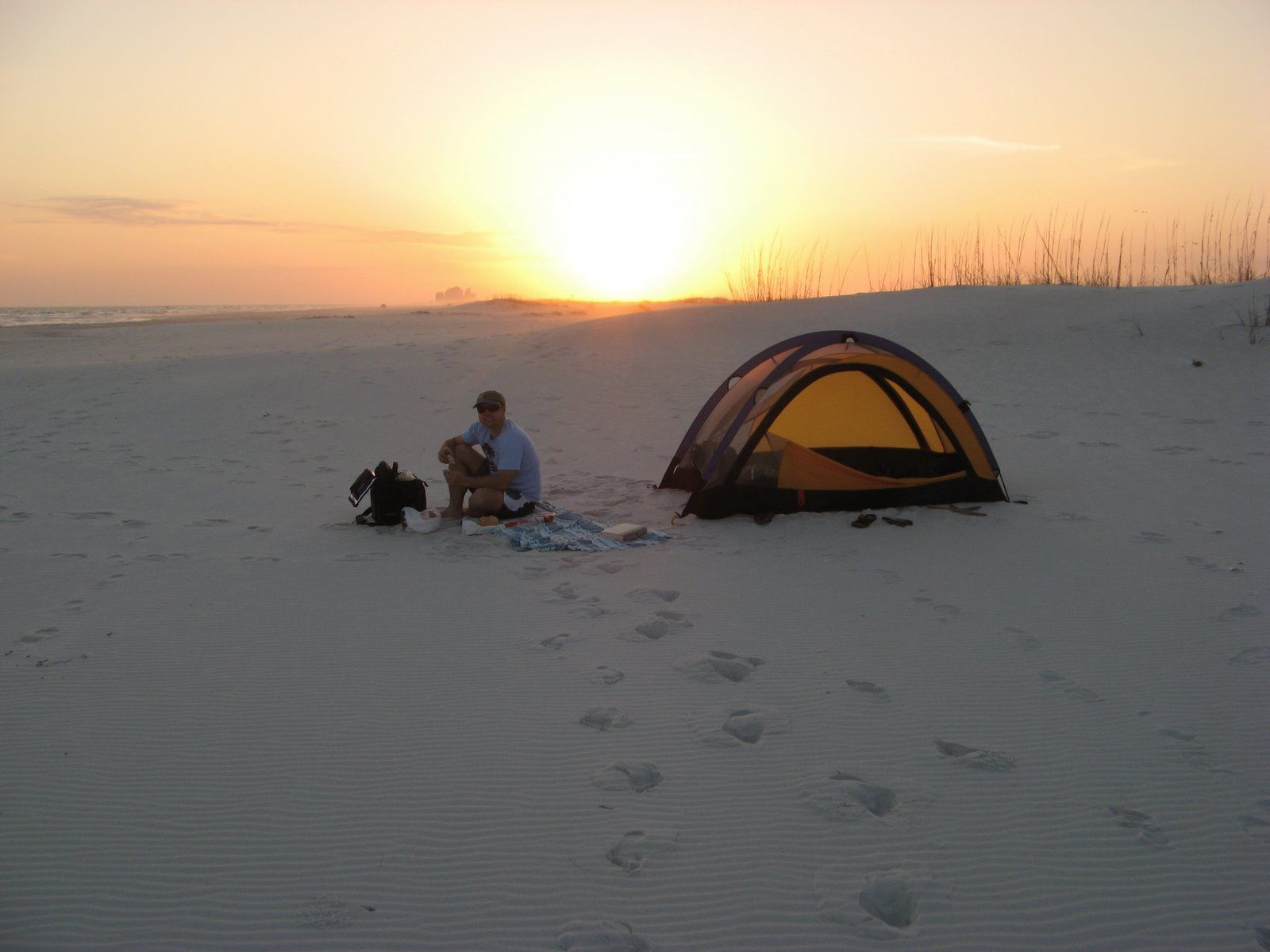 Beau Beach Camping At Gulf Islands National Seashore//Best Camping/cabins In NW  Florida