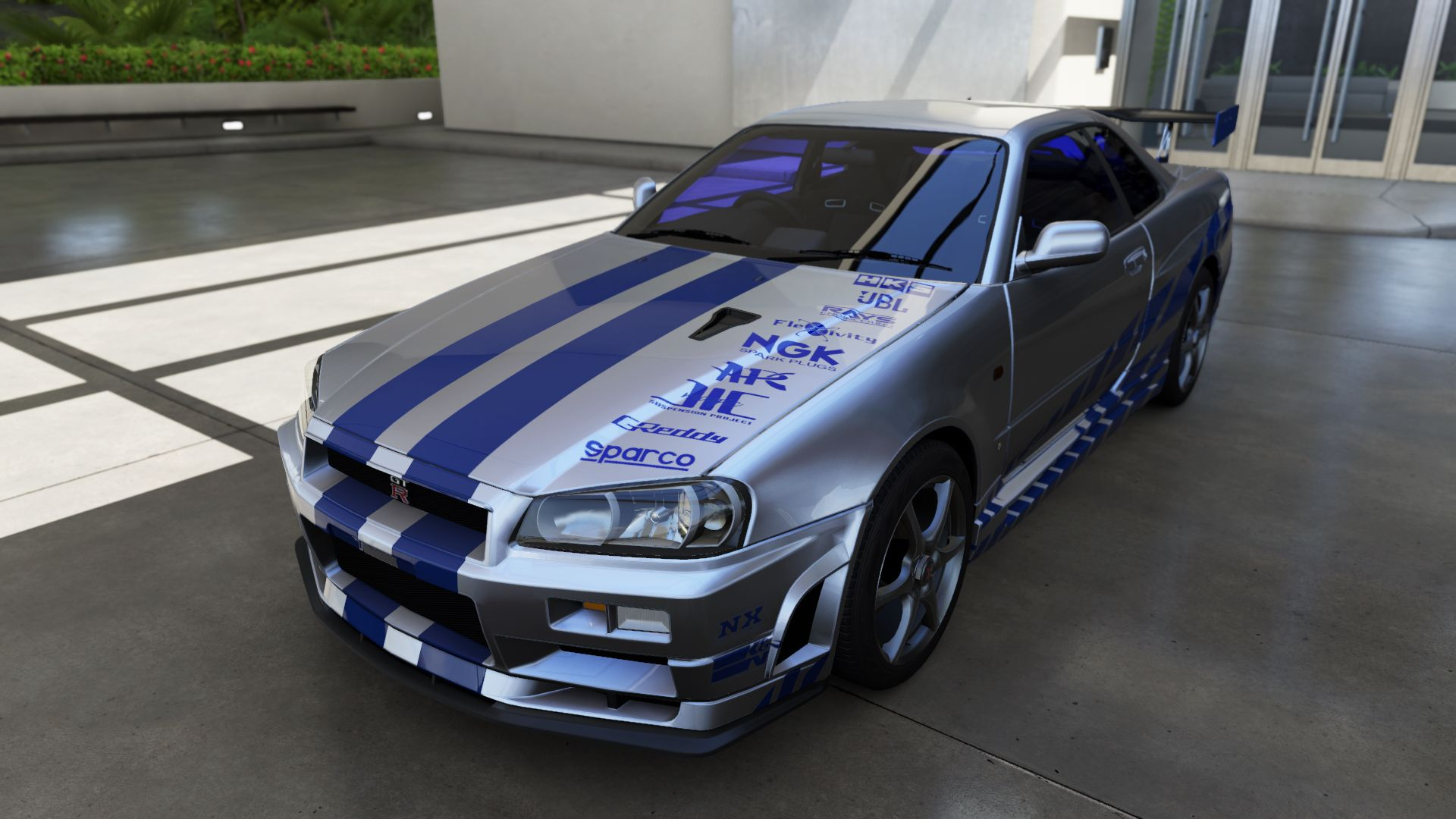 nissan skyline fast and furious 6. forza 6 nissan skyline 2 fast furious replica and f