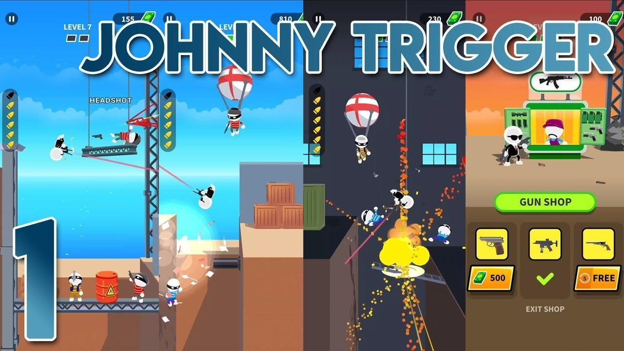 Johnny Trigger Mod Apk For Android Techbigs The Perfect Score Johnny Game App