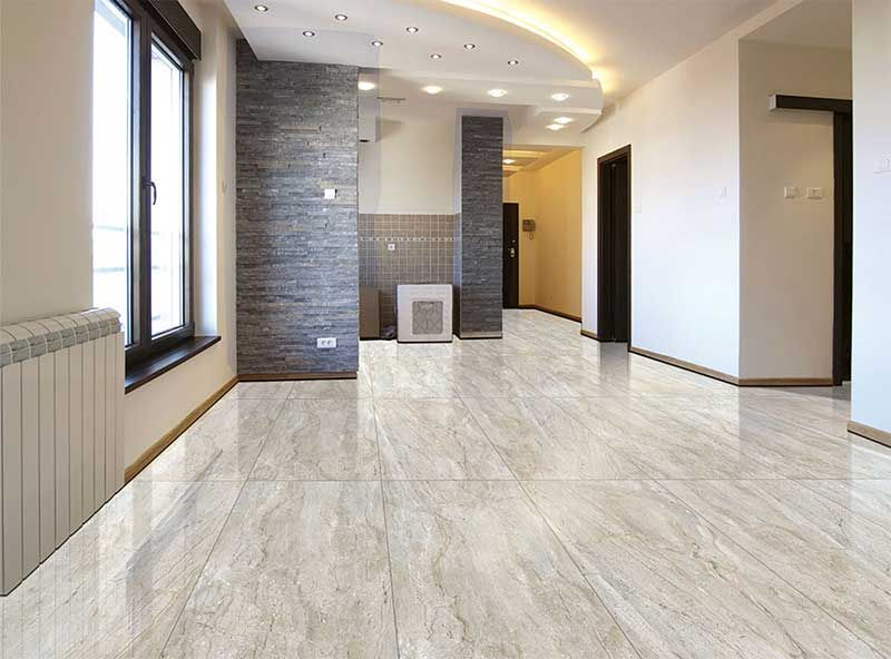 Main Benefit With Gvt Glazed Vitrified Tiles Is It Offers Option
