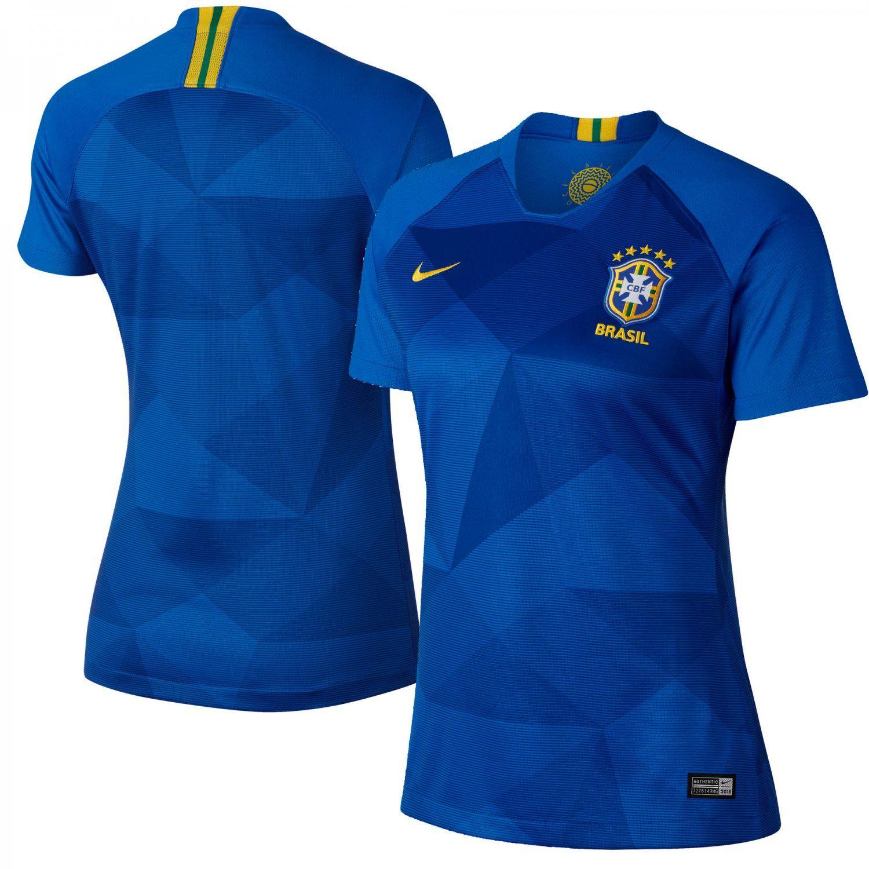 uk availability 22079 6d0ba Brazil National Team Women's 2018-2019 Away Jersey â ...