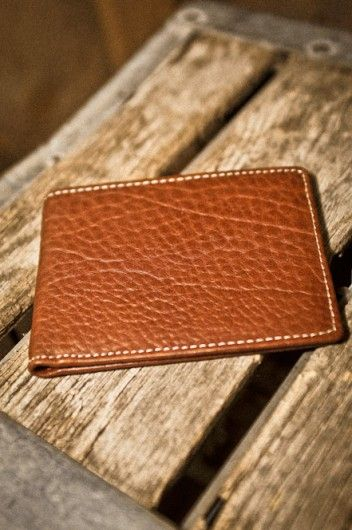 100% Authentic Bison Leather Wallet for Men - Honor your Wild www.buffalojackson.com