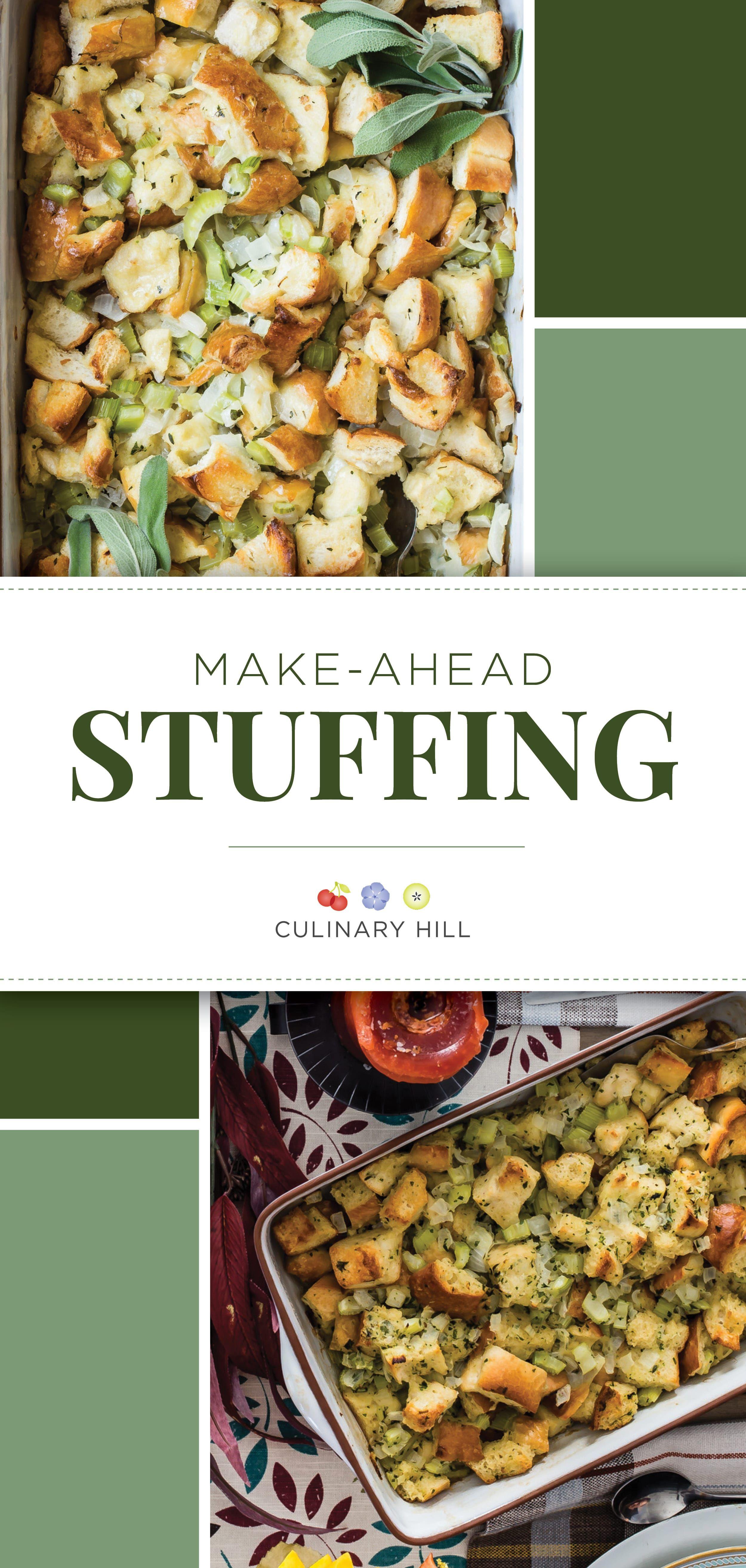 Make Ahead Stuffing