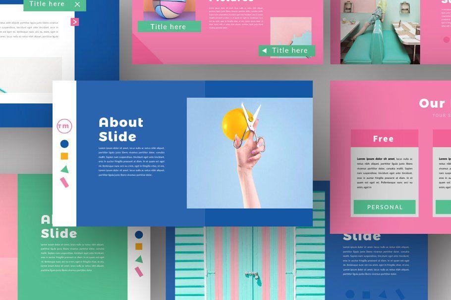 Color Fun Powerpoint Keynote Design Presentation Design Keynote