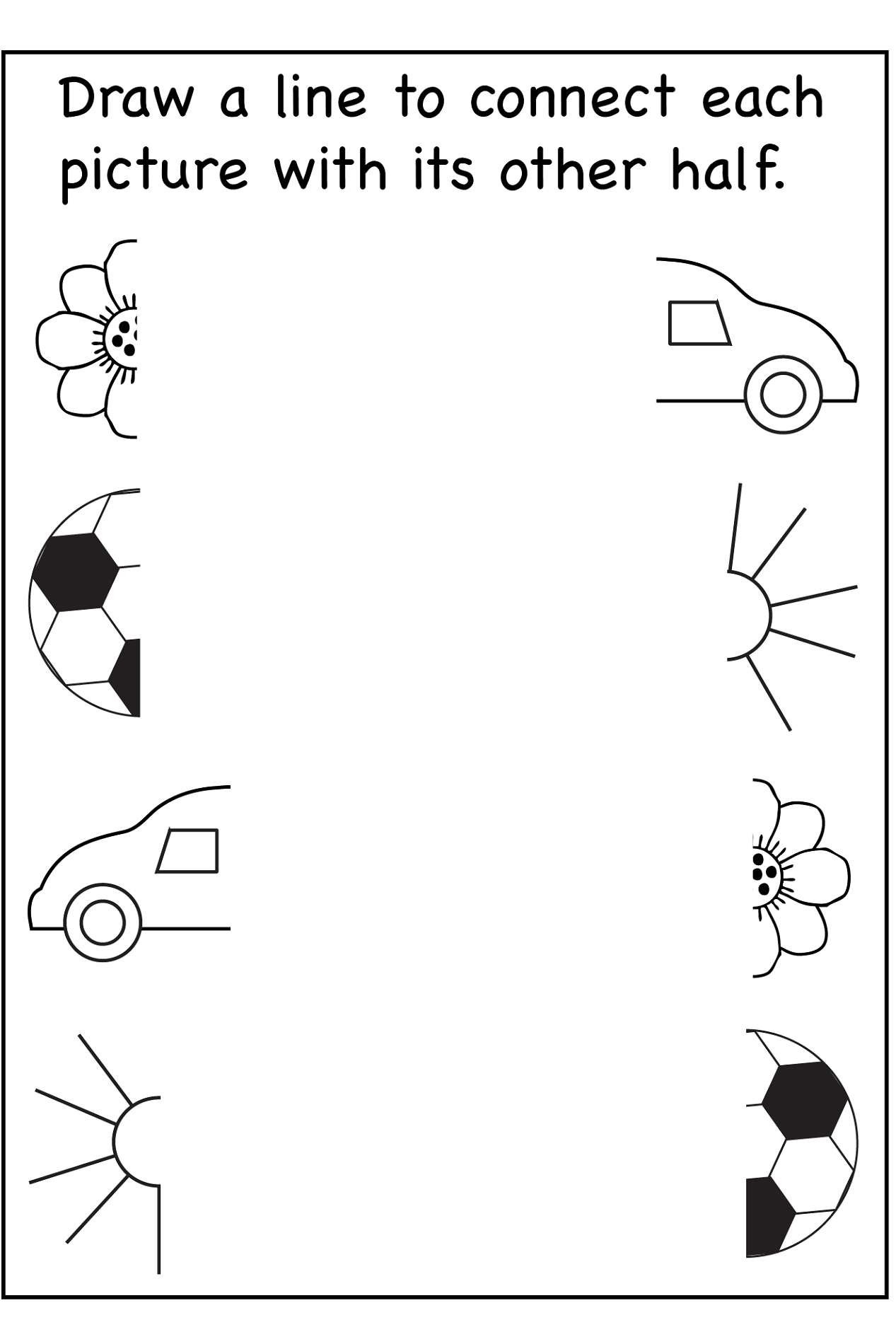 Free Worksheets For 2 Year Olds Pictures