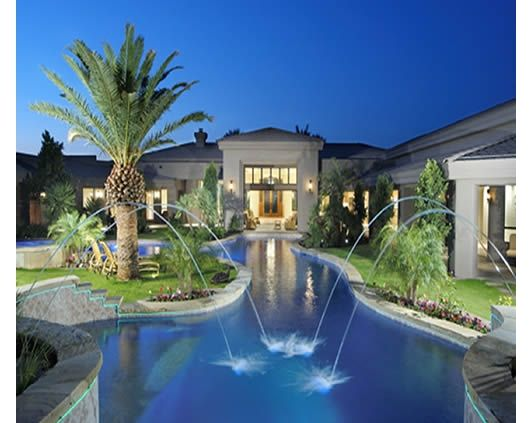 Luxury Landscape Design   Home And Garden Design Ideas