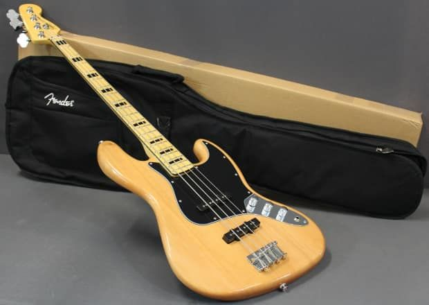 Squier Squier Vintage Modified 70 S Jazz Bass Guitar With A Fender Deluxe Gigbag Cogswheel Music Guitar Company Llc Reverb Squier Bass Guitar Fender Deluxe