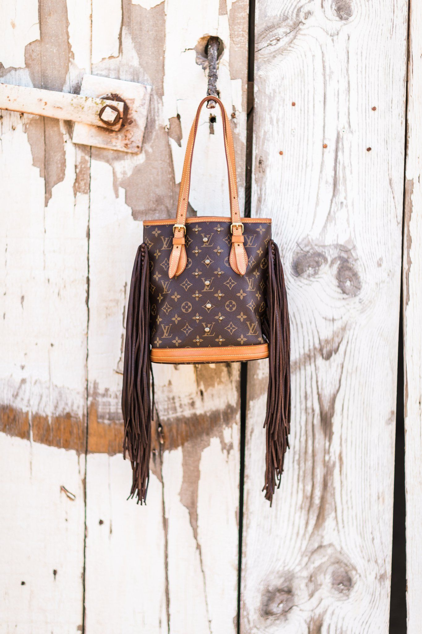 The Petit French Tote with Studs | French tote, Louis