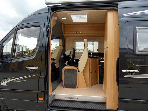 Motorhome Class B Interior Buscar Con Google Sprinter Van 4x4 Van Living Y Mas Pinterest