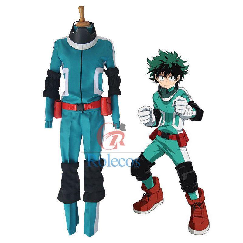 My Hero Academy Izuku Midoriya Fighting Green Uniforms