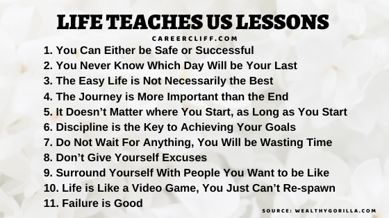 10 important career lessons most people learn too late in life 15 lessons people learn too late in life 5 lessons in life people learn too late lessons people learn too late inspirational life lessons life lessons short life lessons best life lessons good life lessons lessons learned in life inc life lessons about love life's greatest lessons are learned through pain lessons to learn in life life lessons in to kill a mockingbird examples of life lessons greatest life lessons life learnings deep life lessons life teaches us lessons life lessons from tuesdays with morrie proverbs for life lessons 5 life lessons from dr seuss life learned life's important lessons tim minchin 9 life lessons life teaches you life lesson status biggest lesson learned this year lessonslearnedinlife 2019 lessons learned in life status life teaches lessons life is full of lessons one great lesson i learned from my life life is lesson some of life's best lessons are learned at the worst times hard times teach us valuable lessons lessonslearnedinlife 2018 to kill a mockingbird life lessons 9 life lessons life long lessons disney life lessons life lessons about relationships real life lessons lessons in life will be repeated until they are learned daily lessons learned in life oprah life lessons life lessons from god daily life lessons life teach me a lesson remember that life's greatest lessons life always teach a lesson lessons in life will be repeated until they are learned meaning powerful life lessons lessons learned in life about love life teaches us many lessons quick life lessons one of the best lessons you can learn life's little lessons humorous life lessons the best lessons in life life teaches you many lessons grey's anatomy life lessons moral lesson in life life lesson of the day hardest lessons in life life will teach you a lesson life lessons donnalynn civello life lessons for women positive life lessons 10 lessons from mahatma gandhi life lessons donnalynn japanese life lessons 