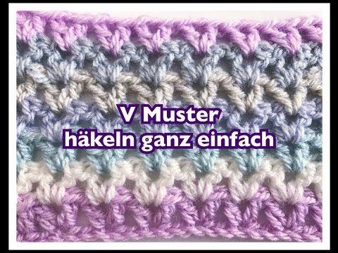 Schal Häkeln Einfache Häkelanleitung Für Einen Schal Bitte