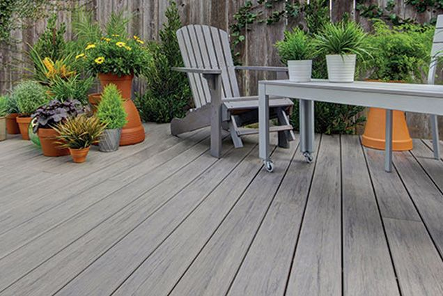 Timbertech Decking In Ashwood Google Search Lake Houses Exterior Patio Inspiration Backyard