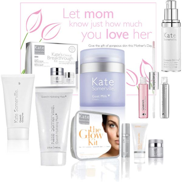 Mothers Day with Kate Somerville!, created by themakeupblogger on Polyvore