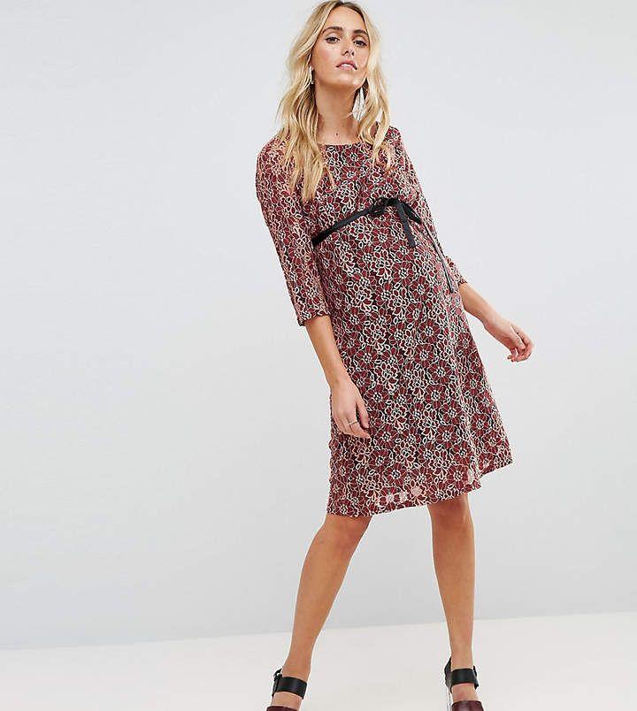 a53a24eb01b Mama.licious Mamalicious Lace Shift Dress