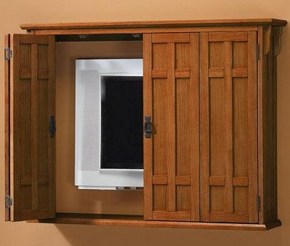 17 Best images about Hide your flat screen TV on Pinterest | Wall mount,  Flats and White shutters