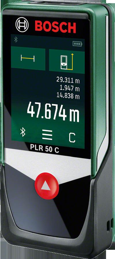 Plr 50 C Digitale Laserafstandsmeter Bosch Diy Entfernungsmesser Bosch Batterien