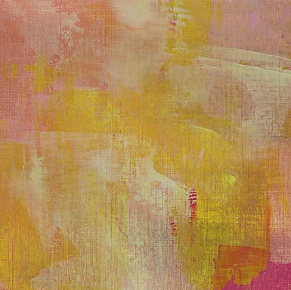 Abstract Wall Art Print - Citrus Love 3 // Artist Charlie Albright ...