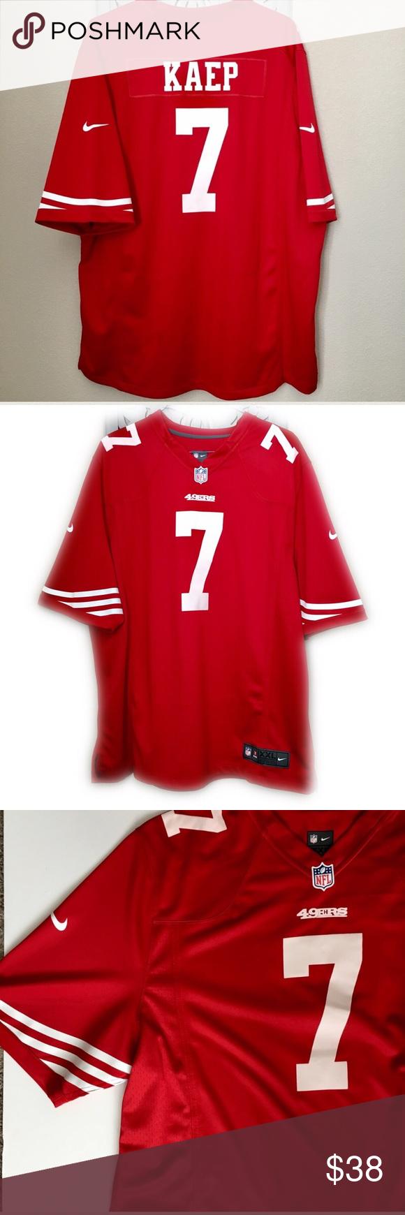 15ee551e8 San Francisco 49ers Colin Kaepernick  7 Jersey