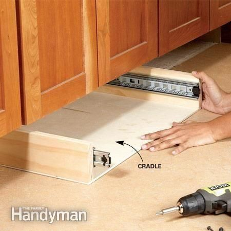 how to build kitchen cabinets with drawers