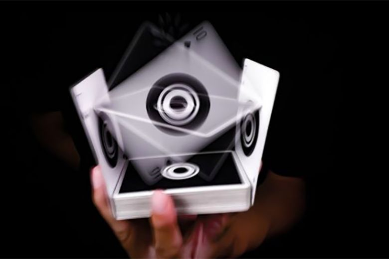 Cardistry lotusinhand unveils echo playing cards