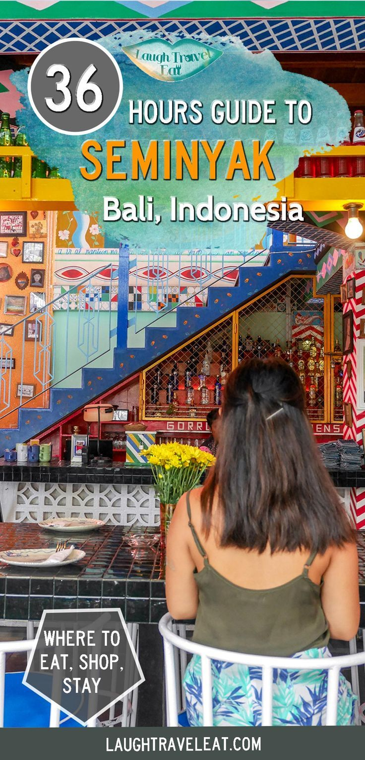 Seminyak is the perfect place to start or end your trip to Bali. Here's a guide to eat, shop, and stay in this popular town
