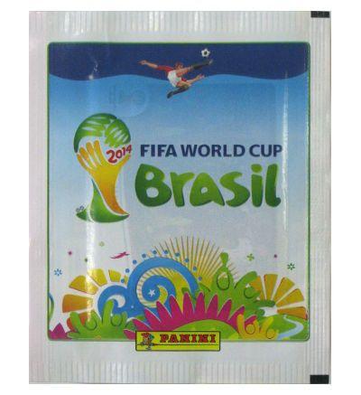 Panini WM Brasil 2014 Tüte Weiß - Version Belgien