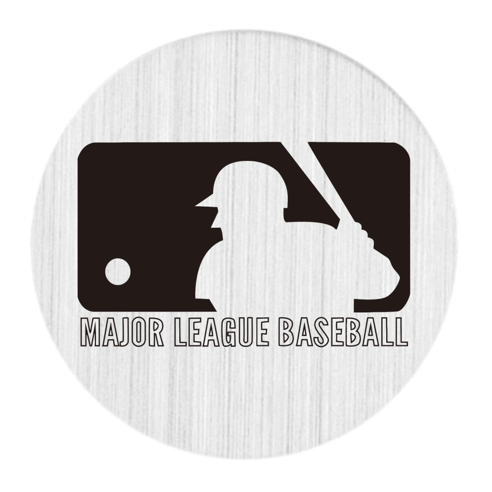 Mlb Logo Black And White Floating Locket Backplate Floating Charms Floating Lockets Stainless Steel