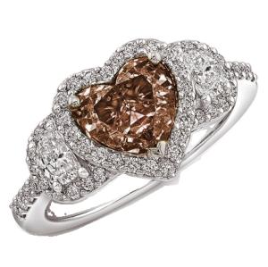 chocolate diamonds | Do that many women like heart shaped jewelry ...